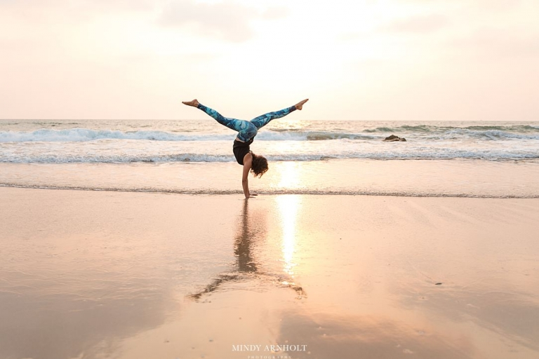 Yoga Photographer | Goa India | Mindy Arnholt Photography