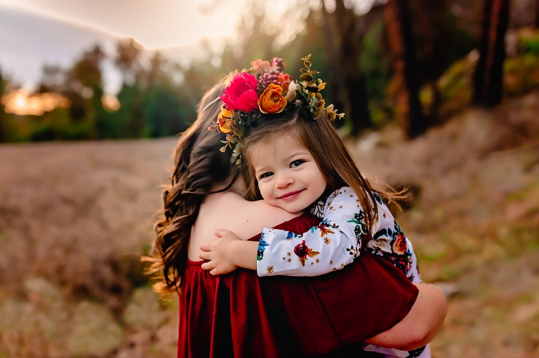 Little girl in a flower crown | Mindy Arnholt Photo