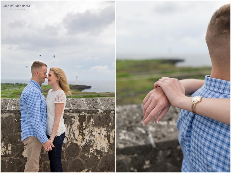 The sweetest Zanpa Lighthouse engagement session in Okinawa, Japan | Mindy Arnholt Photography- Spokane Photographer