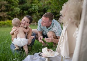 Cake Smash Photographer | PNW | Mindy Arnholt Photography