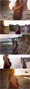 Beach Maternity Poses | Spokane Maternity Photographer