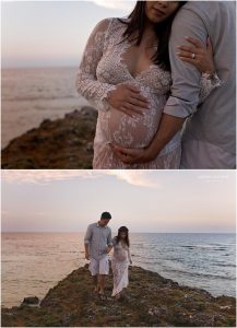 Cliff Top Maternity Images | Spokane Maternity Photographer